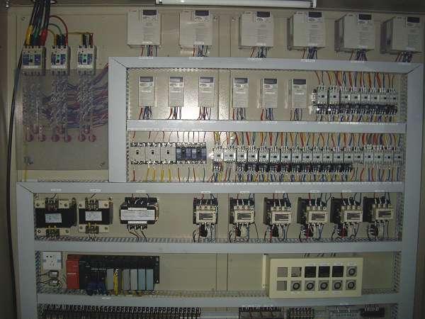 电控系统,集电路设计,电箱设计,电控箱配线,plc编程